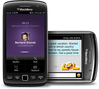 Viber для BlackBerry