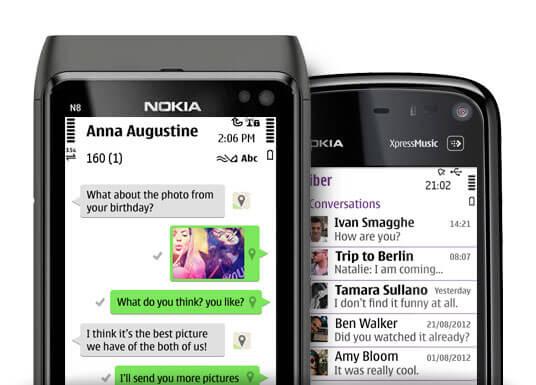 Viber для Nokia Symbian