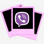 Как отправить фото через Viber