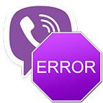 Что делать если в Viber произошла ошибка